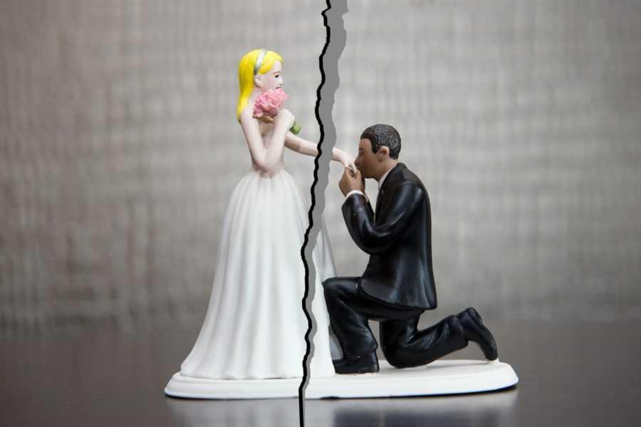 распространенные причины развода
