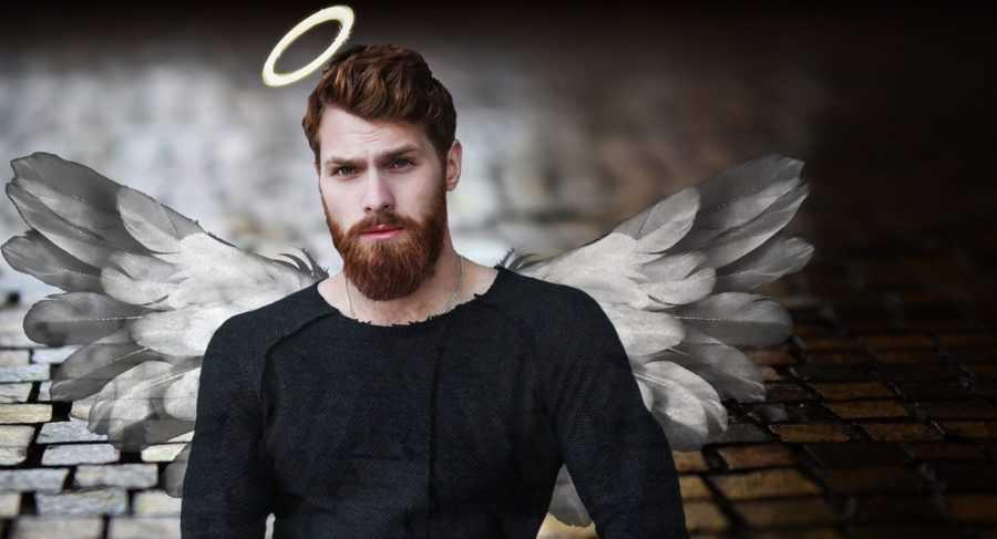 мужчина ангел