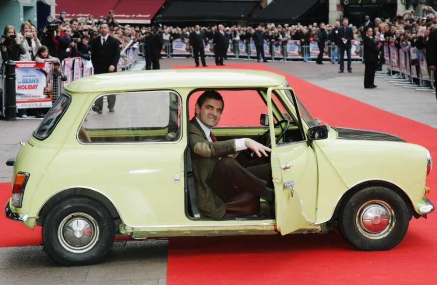 мистер бин в машине