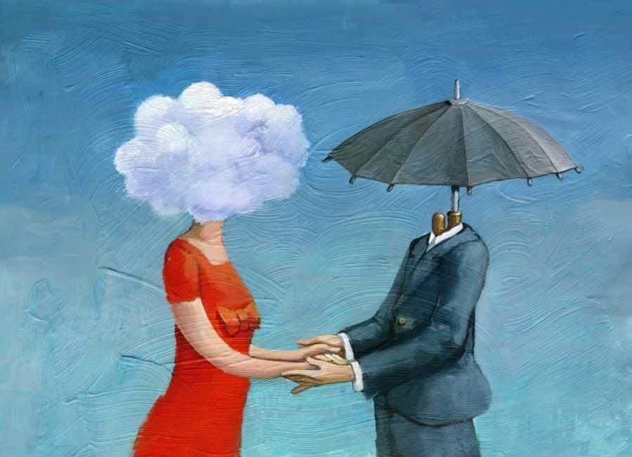 туча и зонт