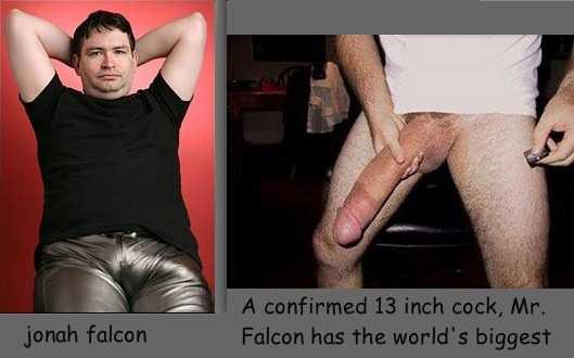 самый большой член в мире - Йохан Фолькон