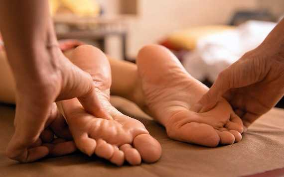 фут массаж ступней