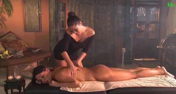 секс лесби массаж