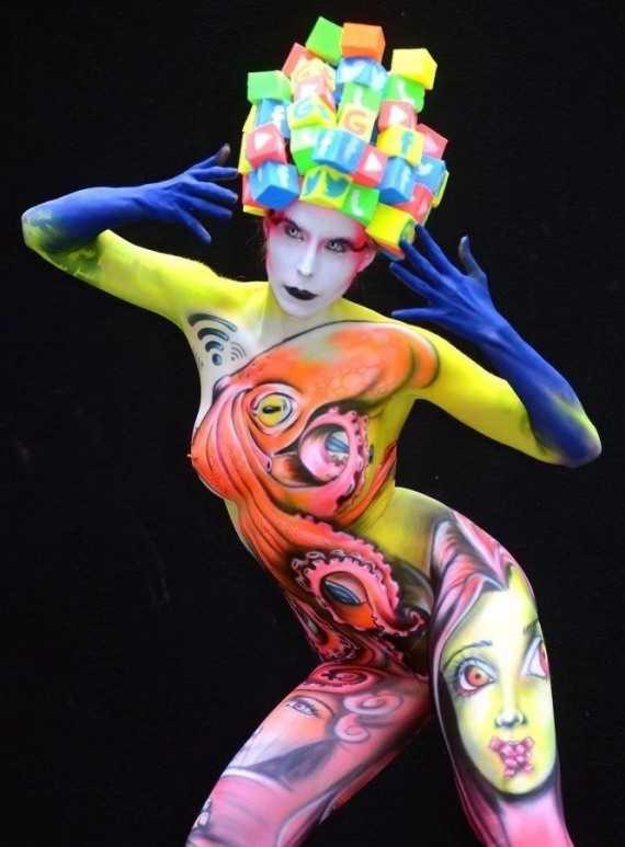 абстракция в искусстве тела