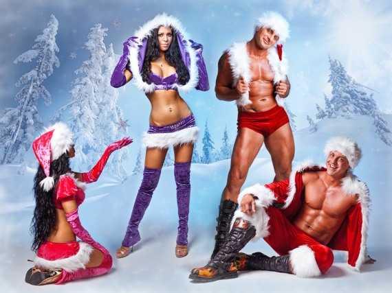 подборка новогодних поз секса