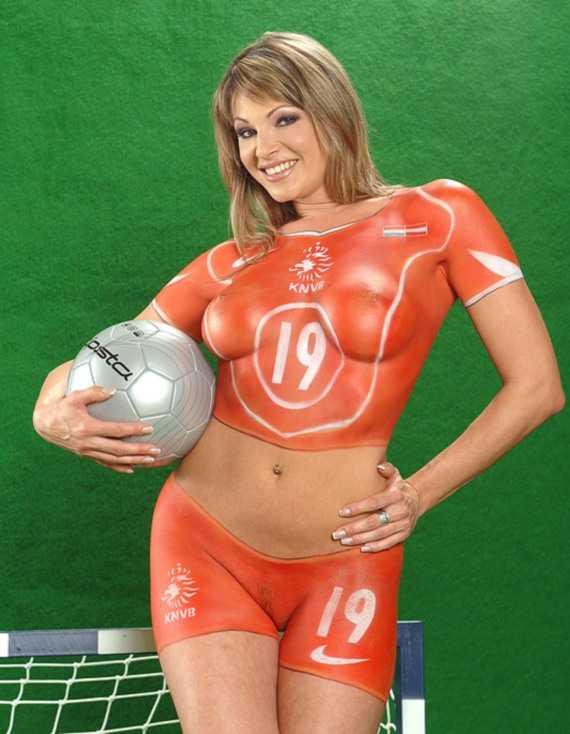 боди арт - футбол