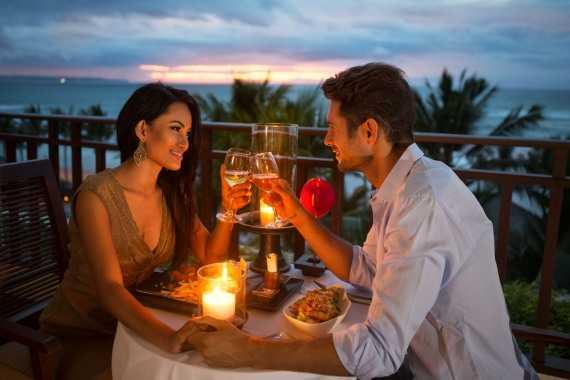 романтический вечер с любимой