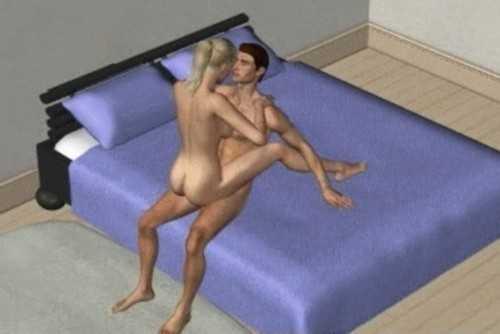 позы для секса сидя - 5