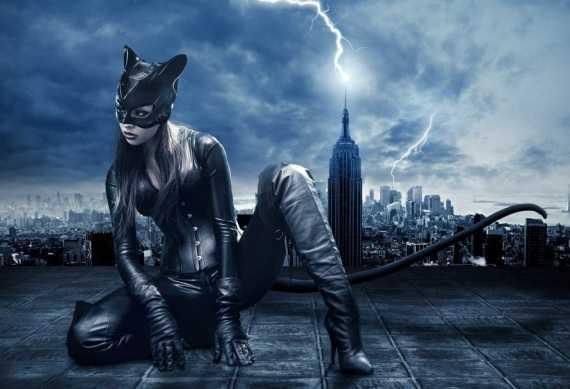 женщина кошка - лучшее фото