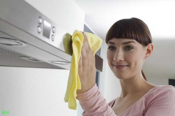Как почистить вытяжку от жира
