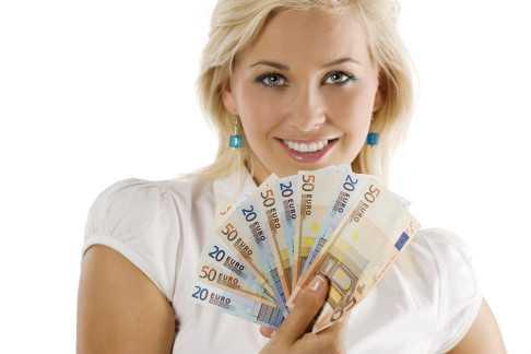 ценности женщины - деньги