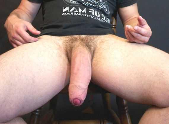 толстый член мужчины