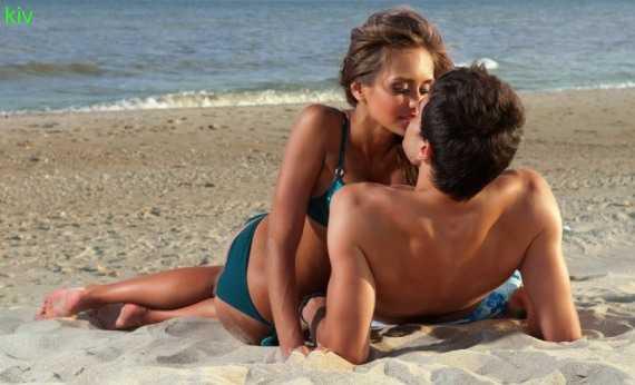 пляжный секс - фото