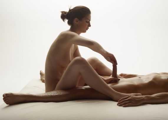 пенис массаж лингама